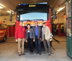Besichtigung der freiwilligen Feuerwehr Grosskaro